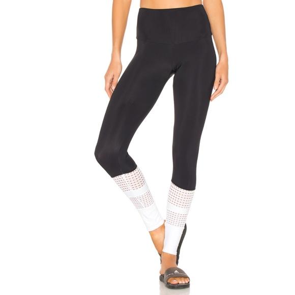 f929804207cba Onzie Pants | Nwt Racer Midi High Rise Legging Black White | Poshmark